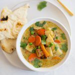 20-Minute Vegetable Green Curry