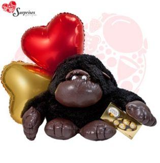 Orangutan I Love You Muchas veces no sabemos cuál es el regalos ideal y con este hermoso REGALO encontraras la manera perfecta de decir ¡FELICIDADES! Estamos para servirte www.surprisesbogota.com tel: 4380157 Cel: 3123750098