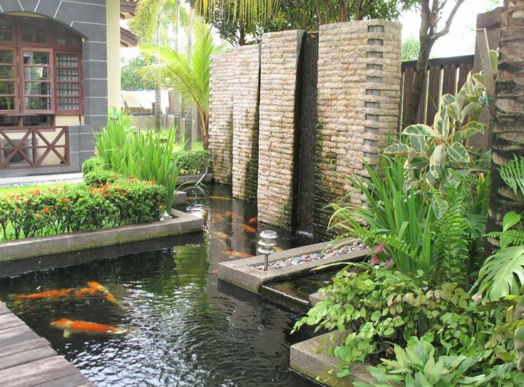 7 Small Step In Creating An Adorable Water Feature Designs For Backyard :  Outdoor Home Garden Water Feature Ideas For The Back Yard Part 62