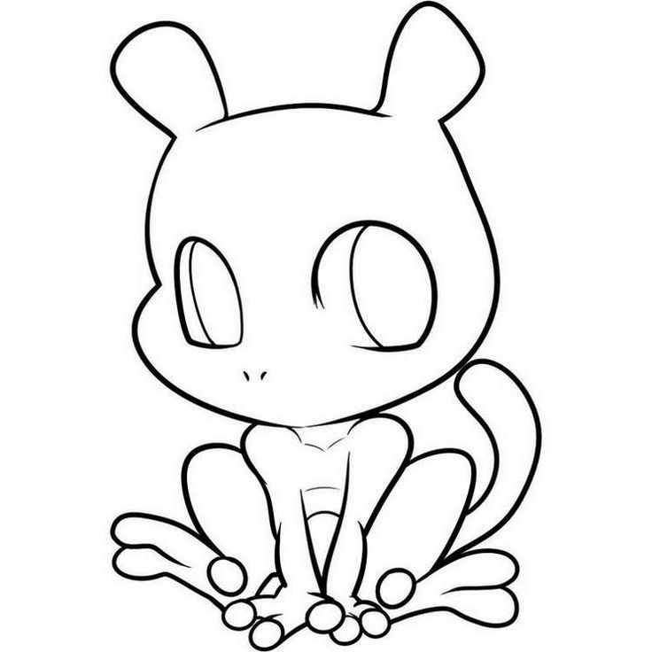Mewtwo Coloring Pages Printable