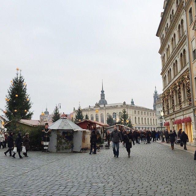 Christmas market in Dresden (Weihnachtsmarkt Dresden)