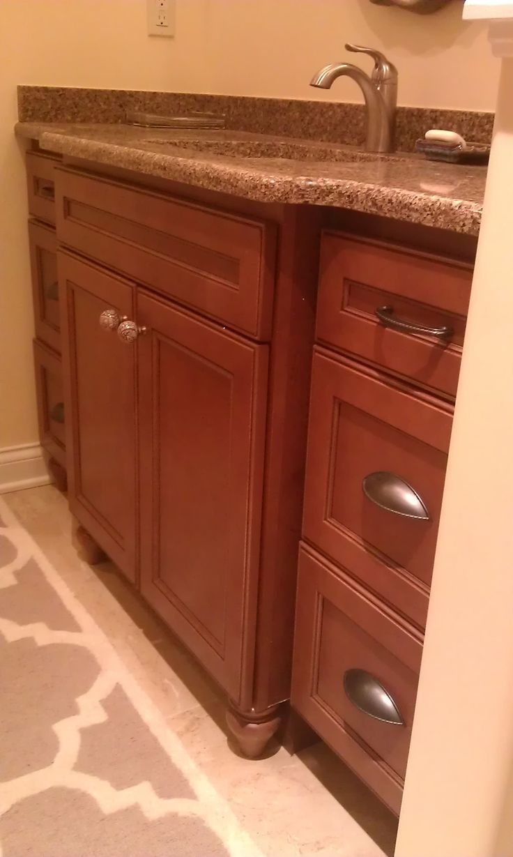 Guest Bath Vanity Cabinet Homecrest Cabinetry Eastport