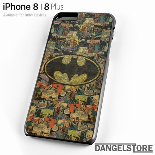 Batman Comic Pattern For iPhone 8 | 8 Plus Case