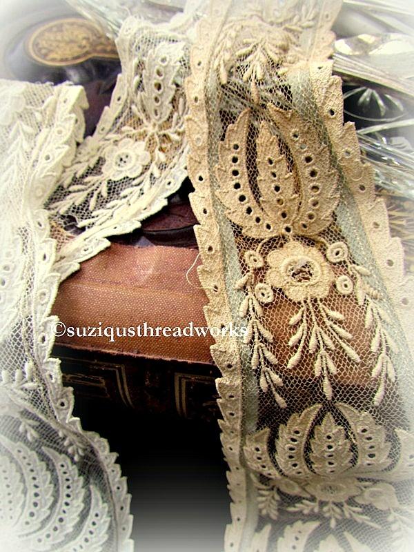 Vintage lace    suzisthreadworks.blogspot.com