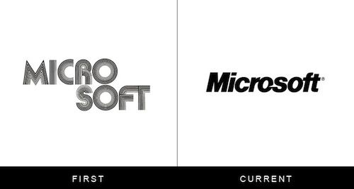 Evolution of Famous Brand Logos | Feel Desain