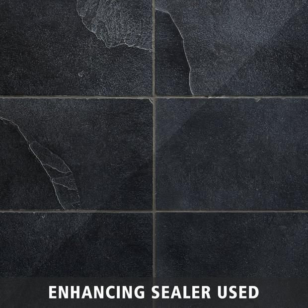 Black Brushed Limestone Tile Floor Decor In 2020 Limestone Tile Limestone Floor Tiles Flooring