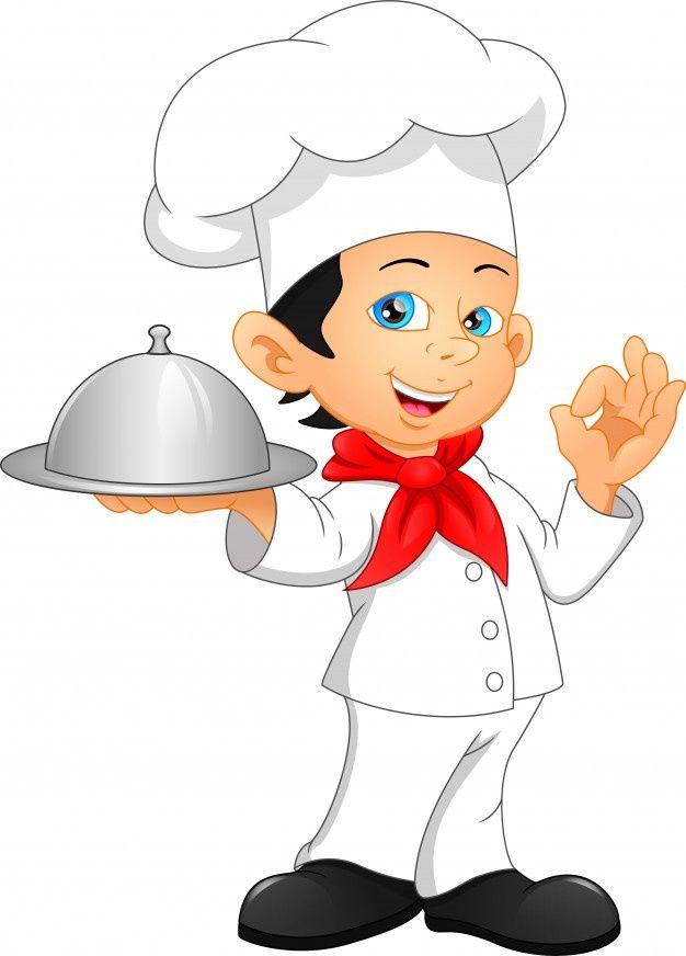 Nino Chef De Dibujos Animados Vector Pre Premium Vector Freepik Vector Caracter Dibujos Animados Cocinero Lindo Ninos Chef Dibujos Animados Dibujos