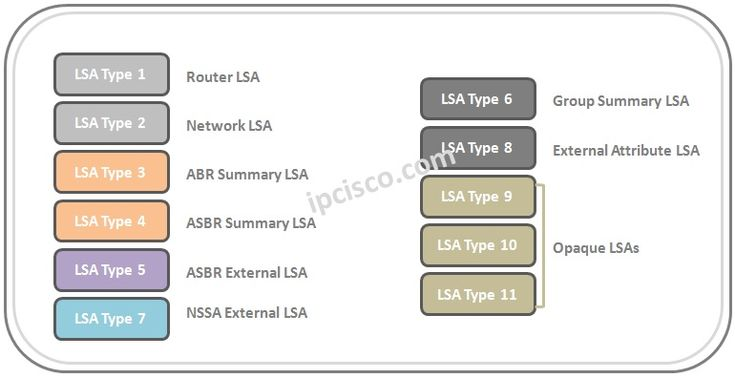 lsa-types-of-ospf #OSPF #CCNP #Routing