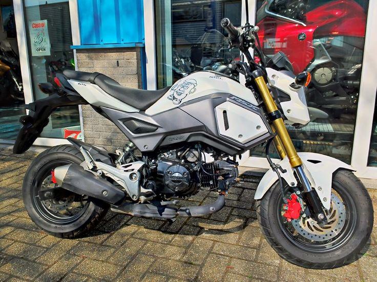 Honda MSX125 Grom / Monkey - Bakker motors Zaandam www.bakkermotors.nl