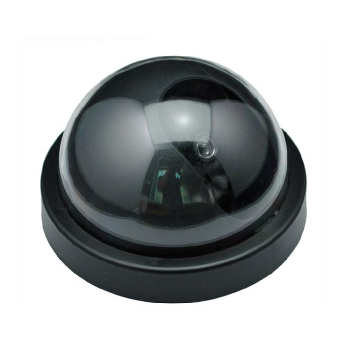 Fake Decoy Dummy IR Dome Camera With LED IR Fake CCTV Camera Fake Simulation CCTV Camera for Home Security Safety