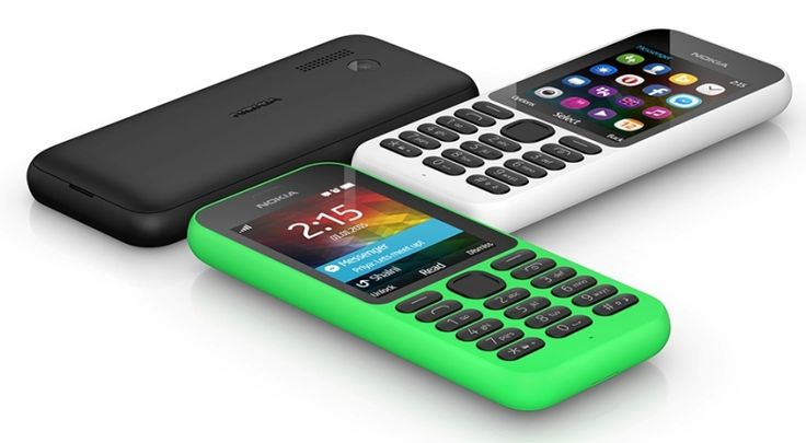 Microsoft launches the Nokia 215, a $29 feature phone touted as its most affordable Internet device yet