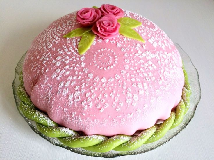 Glutenfri prinsesstårta