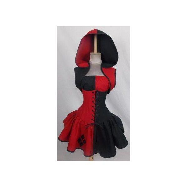 Tartan Plaid Corset Dress Goth Punk Prom Steampunk EMO OBSIDIAN NEW... ❤ liked on Polyvore featuring dresses, gothic corset, prom dresses, goth dresses, gothic dresses and red corset dress