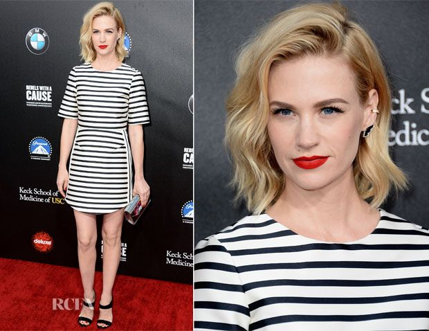 January Jones In Topshop - 2nd Annual Rebel With A Cause Gala