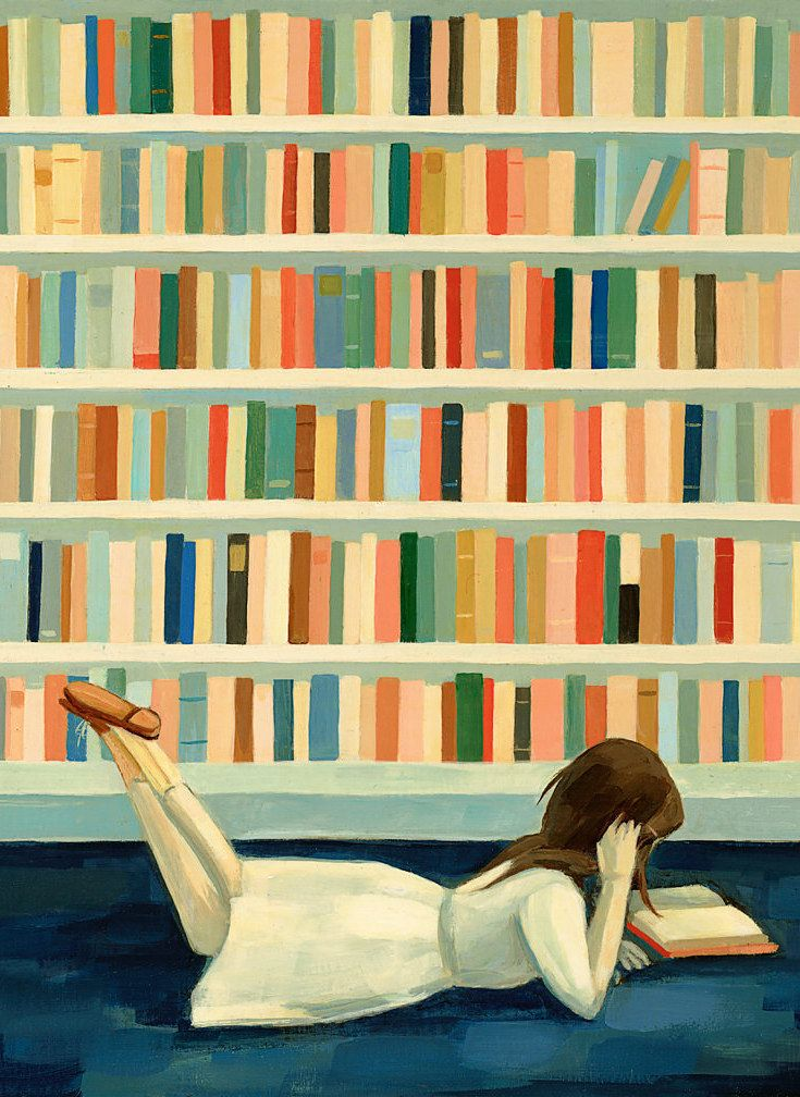 24 Perfect Prints For People Who Love Books