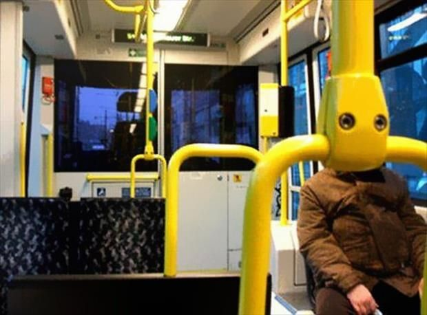 Meanwhile On Public Transportation – 30 Pics