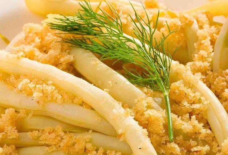 Fasolka szparagowa w maśle i bułce tartej #smacznastrona #przepisytesco #poradytesco #fasolkaszparagowa #food #pycha