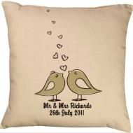 Great wedding gift! This site is in the UK, so maybe DIY?: Love Birds Wedding, Bird Wedding, Gifts Ideas, Wedding Gifts