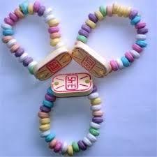 i braccialetti di caramelle