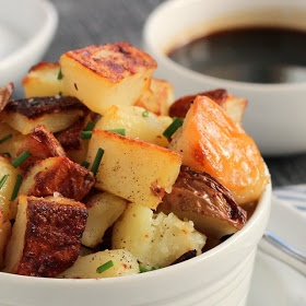 Salt and Vinegar Roasted Potatoes | Food: Veggies | Pinterest