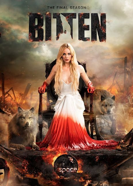 Werewolf drama Bitten wolfs out with 9 new dramatic Season 3 posters and promo pics | Blastr