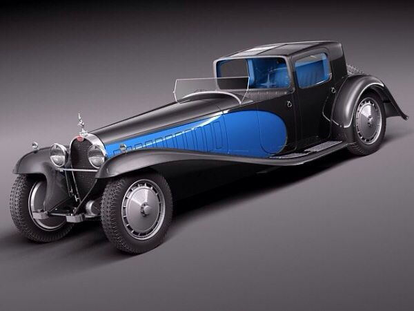 Bugatti Royale Kellner Coupe.                                                                                                                                                                                 More