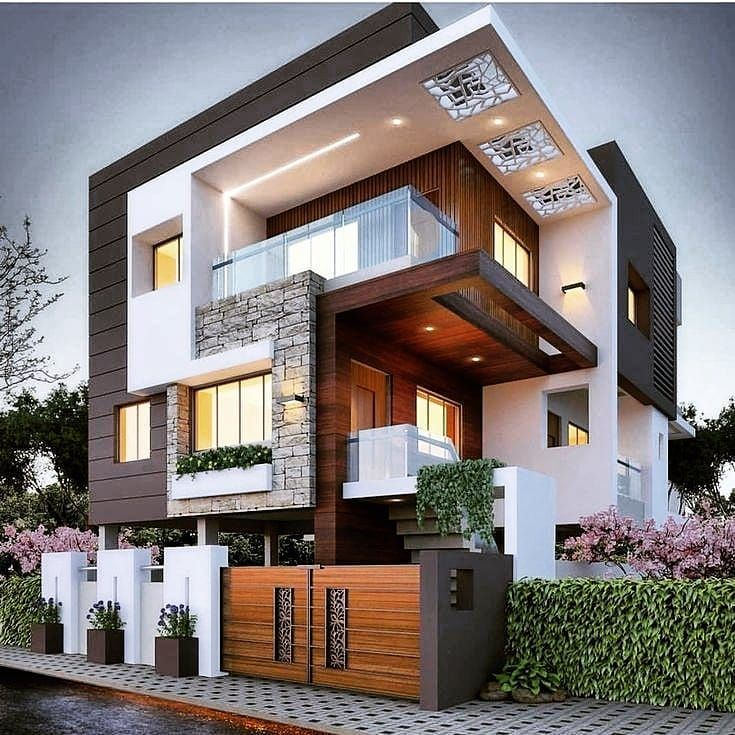 House Goals Rate It Follow My House Inspiration For More Tag Someone Who Might Like Minimalist House Design House Front Design Cool House Designs