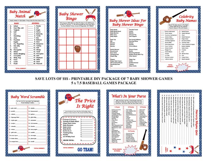 baseball baby shower games baseball theme baby games printable