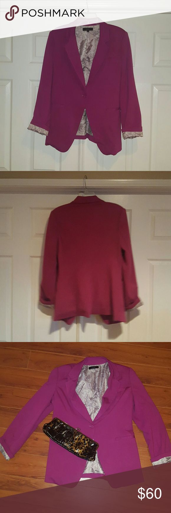 Jessica Simpson Pink Blazer!!! Cute Pink Blazer!!! Dress it up or down! Jessica Simpson Jackets & Coats Blazers