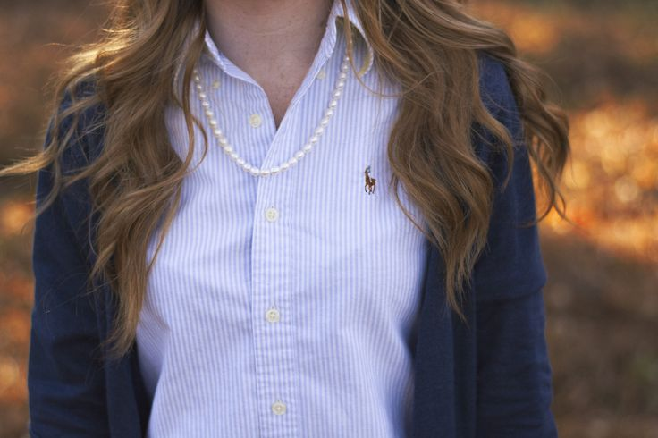 Southern Sweetie - Pearls, Curls & Polos