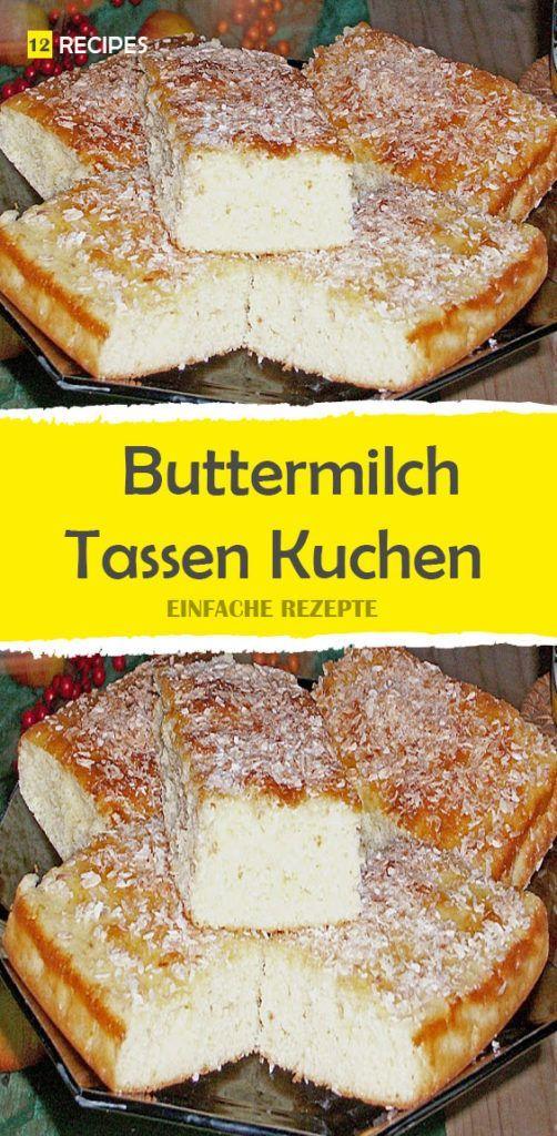Buttermilch – Tassen Kuchen 😍 😍 😍