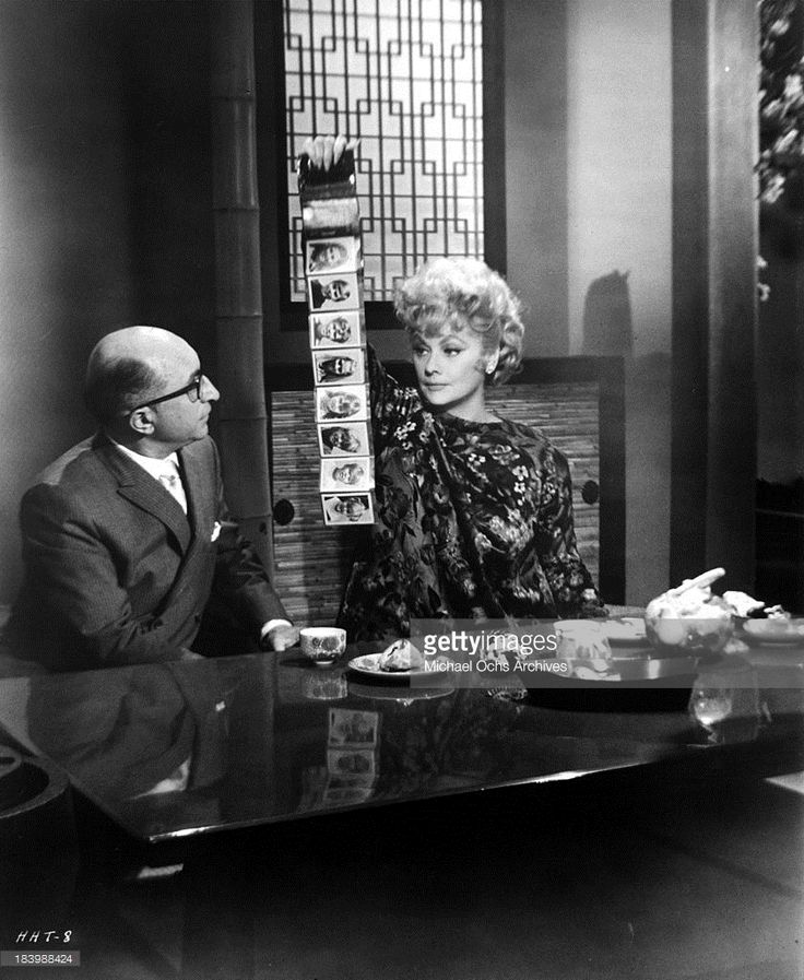 Actor Sidney Miller and actress Lucille Ball 'Yours, Mine and Ours' in 1968.