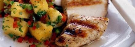 Pineapple Salsa Chicken | Chicken | Pinterest