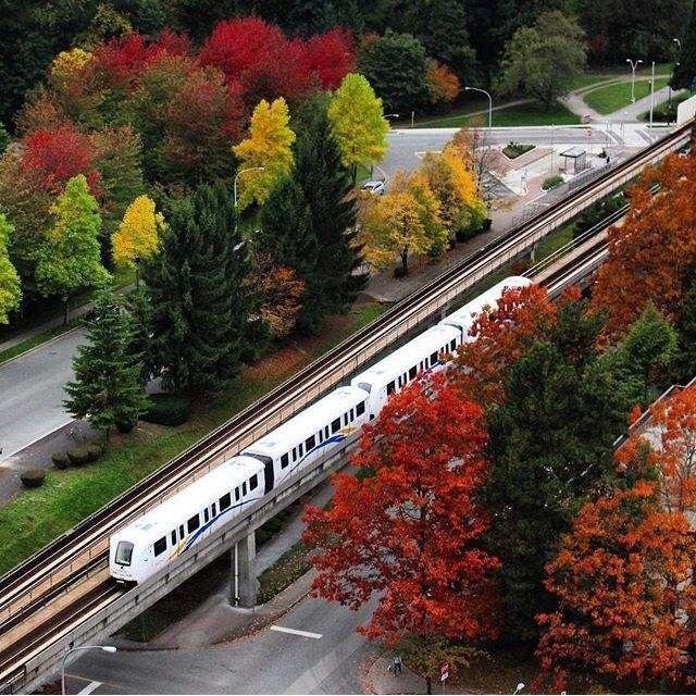 Skytrain Canada Vancouver