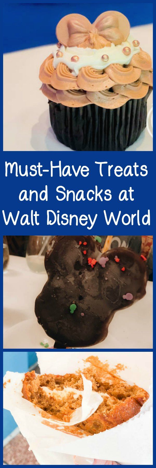 Must-Have Treats and Snacks at Walt Disney World, Including Dole Whips, Zebra Domes, Mickey Bars, and Beignets. #disney #ad #familytravel