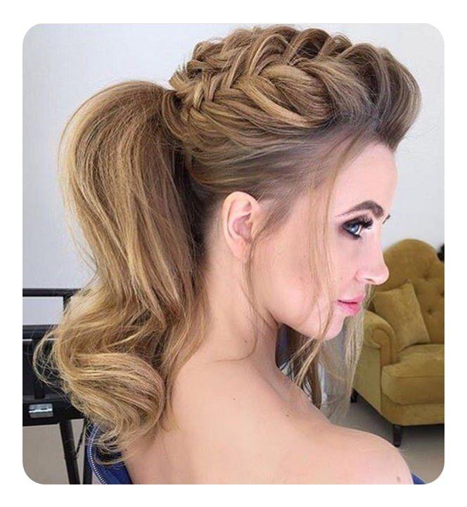 71 Peinados De Dama De Honor Unicos Para El Gran Dia Largo Peinados Peinados Para Damas De Honor Peinados Para Damas Peinado Semirecogido Con Trenzas