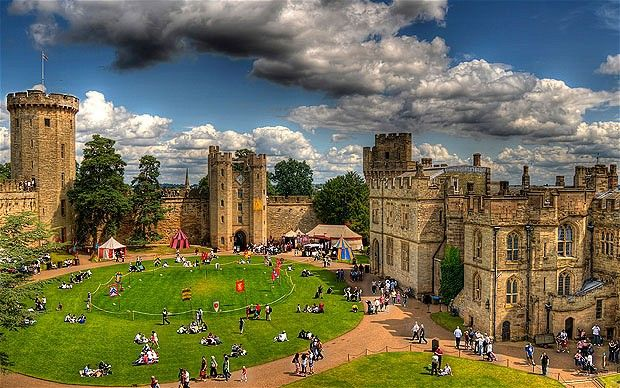 Warwick Castle, England I have always wanted to go inside a real medical aged castle :).