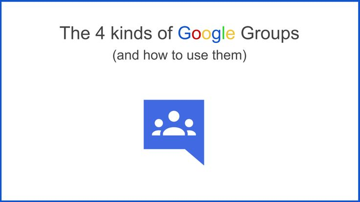 The 4 Kinds of Google Groups (and how to use them) http://www.thegooru.com/the-4-kinds-of-google-groups-and-how-to-use-them/ #gafe #googleedu #edtech