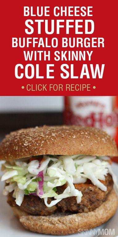 recipe skinny bleu cheese stuffed buffalo burgers blue cheese burgers ...