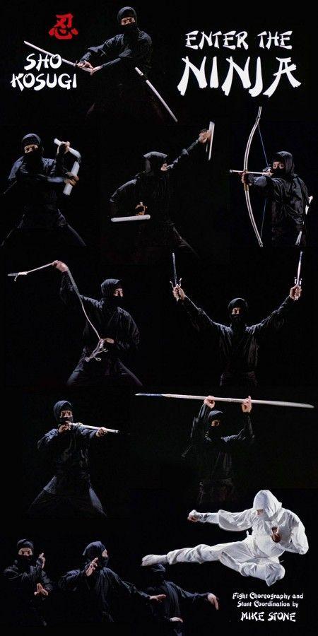 Sho Kosugi in Enter the Ninja #Ninja