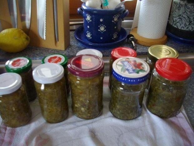 Gurkenrelish aus Amerika - Rezept mit Bild - kochbar.de