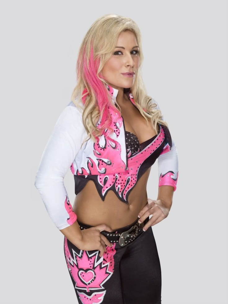 WWE Diva Natalya , She is an awesome wrestler , and it doesn't hurt that  she's a HART too! Love her hair in this!