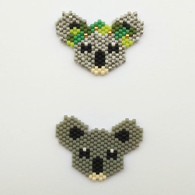 Koala (3.5x2.5 cm) fille ou garçon broche ou collier 7 euros pièce