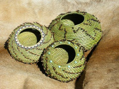 Beautiful Pine Needle Basketry!!