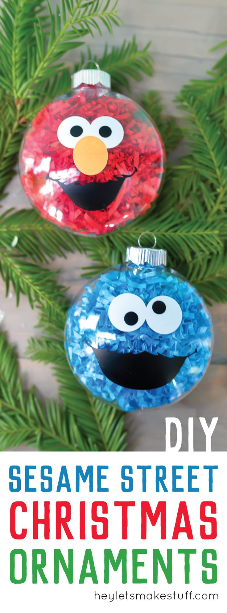 25 best ideas about easy christmas ornaments on pinterest for Easy home made christmas decorations