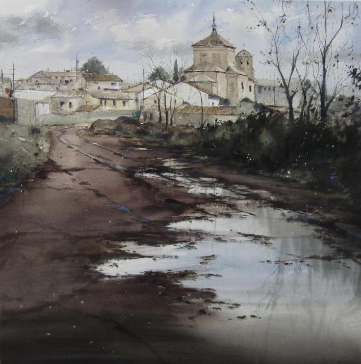 Pablo Ruben Lopez Sanz, watercolor