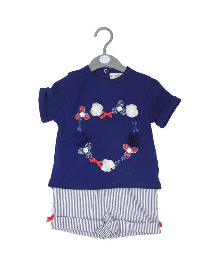 Σετ bebe μπλούζα-σόρτς | Poulain.gr