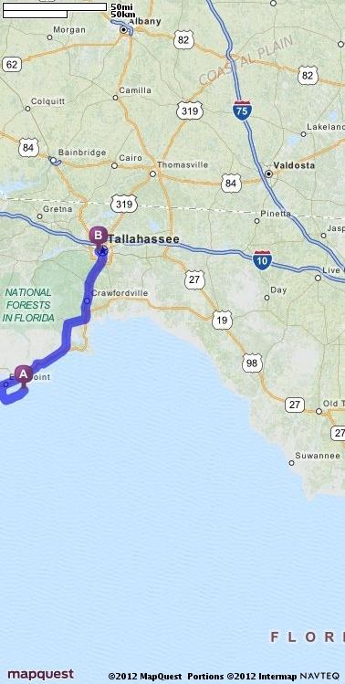 chiefland florida mapquest