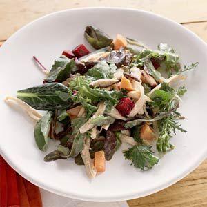 Beeautiful asian chicken salade hot