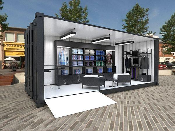Ben Sherman Container Store By Jair Barr N Via Behance